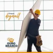 Placa de Gesso em Foz do Iguaçu, PR por Gesso Ouro Branco