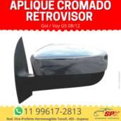 Aplique Cromado Retrovisor GolVoy G5 08/12 em Itupeva, SP por Spx Acessórios e Autopeças