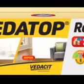 Vedatop Rodapé - caixa 12kg