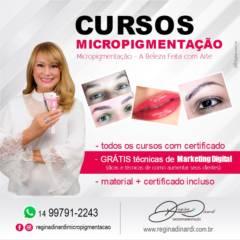 CURSO Designer e Micropigmentação Dermografo e Tebori