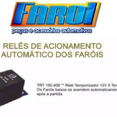 RÉLE DE ACIONAMENTO AUTOMÁTICO DOS FÁRIOS