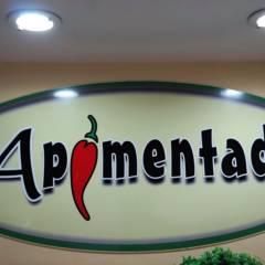 Almoço de sábado com familiares e amigos é no restaurante Apimentado, em nossa praça de alimentação.