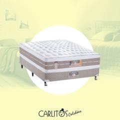 Cama box Casal CASTOR