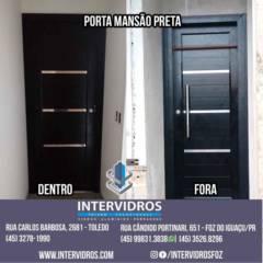 PORTA MANSÃO PRETA