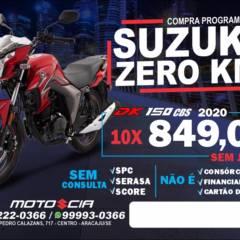 Compra programada em Aracaju, SE por Moto e Cia Aracaju