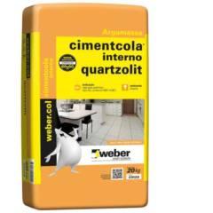 Argamassa AC 1 Interna 20 Kg Quartzolit