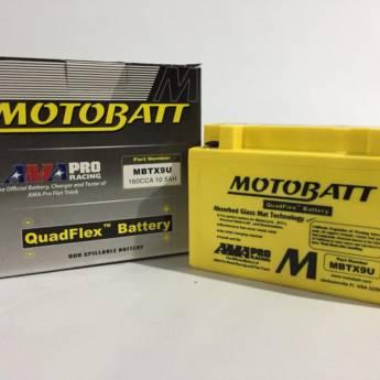 Comprar o produto de Bateria Motobatt MBTX9U 10.5 AH em Baterias pela empresa Casa das Baterias em Foz do Iguaçu, PR por Solutudo