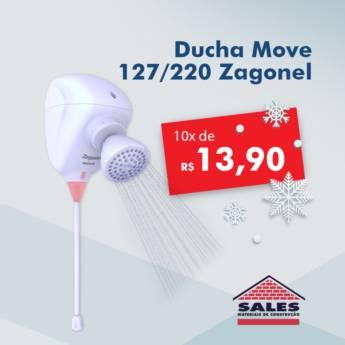 Comprar o produto de Ducha Move 127/220 - Zagonel em Construção em Botucatu, SP por Solutudo