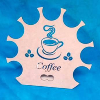 Comprar o produto de PORTA CÁPSULAS DE CAFÉ CIRCULAR em Utilidades em Atibaia, SP por Solutudo