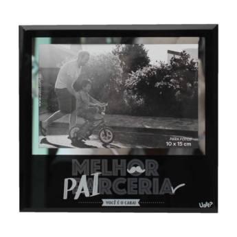 Comprar o produto de Porta retrato 10x15 - Pai parceria em Artesanato em Aracaju, SE por Solutudo