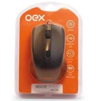 Comprar o produto de Mouse Óptico OEX  em Informática em Tietê, SP por Solutudo