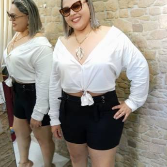 Comprar o produto de CAMISA ELASTANO (G,GG)  em Moda Plus Size em Botucatu, SP por Solutudo