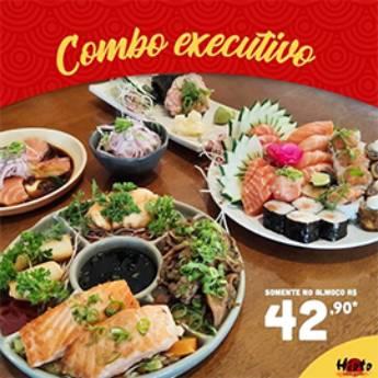 Comprar o produto de Combo Executivo  em Restaurantes Japoneses em Americana, SP por Solutudo