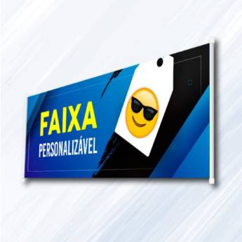 Comprar produto Faixas em Atibaia em Impressão Digital pela empresa Artworld Soluções em Comunicação Visual em Atibaia, SP