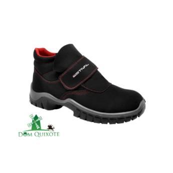 Comprar o produto de Botina em Velcro Estival em Calçados de segurança pela empresa Dom Quixote Equipamentos de Proteção Individual em Jundiaí, SP por Solutudo