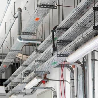 Comprar o produto de Montagem de leitos de cabos de potência em Instalação Elétrica em Atibaia, SP por Solutudo