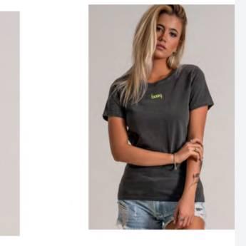 Comprar o produto de T-Shirts basic BOOQ em Roupas e Acessórios pela empresa Loja Ego - Moda Feminina Multimarcas em Botucatu, SP por Solutudo