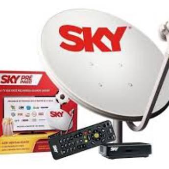 Comprar o produto de PRÉ-PAGO KIT COMPLETO COM PROGRAMAÇÃO!! em Sky em Botucatu, SP por Solutudo