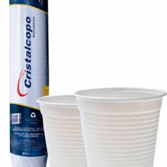 Comprar o produto de Copo Descartável Cristalcopo Transparente 300ml em Descartáveis para Festa em Jundiaí, SP por Solutudo