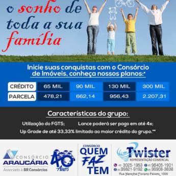 Comprar o produto de Consórcio de Imóveis em Consórcios em Foz do Iguaçu, PR por Solutudo