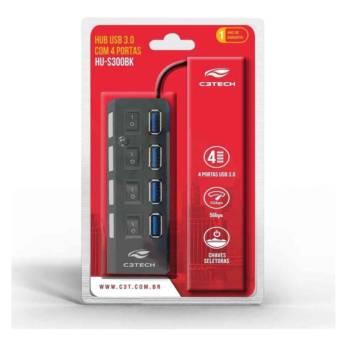 Comprar o produto de HUB USB 3.0 4 PORTAS ALTA VELOCIDADE em Novos pela empresa Multi Consertos - Celulares,  Informática e Vídeo Games em Botucatu, SP por Solutudo