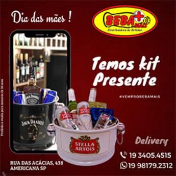 Comprar o produto de Kit Presente para o Dia das Mães  em Depósitos de Bebidas em Americana, SP por Solutudo