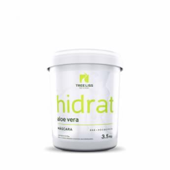 Comprar o produto de MASCARA HIDRAT ALOE VERA BALDE 3,500 KG da TREE LISS em Tratamento em Araçatuba, SP por Solutudo