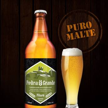 Comprar o produto de Cerveja • Pedra Grande Pilsen em Cervejas em Atibaia, SP por Solutudo