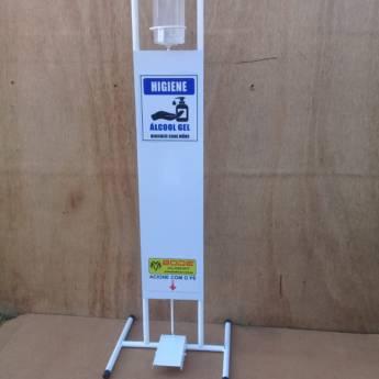 Comprar o produto de Dispenser em álcool gel em Cuidado da Saúde em Tietê, SP por Solutudo