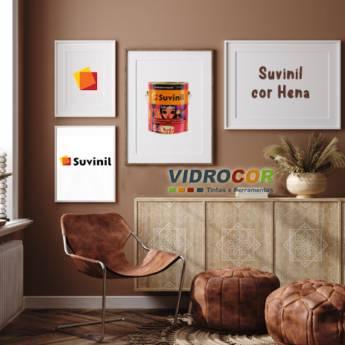 Comprar o produto de Suvinil Criativa galão 3,2L cor Hena em Tintas pela empresa Vidrocor Tintas - Loja 1 em Botucatu, SP por Solutudo