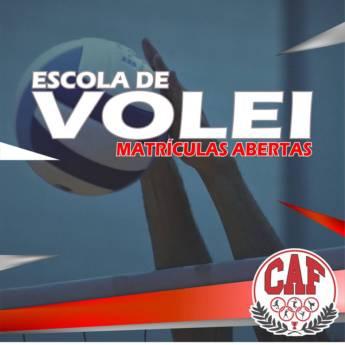 Comprar o produto de VOLEI – MATRÍCULAS ABERTAS em Aulas e Cursos Esportivos pela empresa CAF - Centro de Atividade Física em Boituva, SP por Solutudo