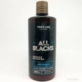 Comprar o produto de Shampoo Anti- Caspa Remove All Blacks 500 ml da Tree liss em Shampoo  em Araçatuba, SP por Solutudo