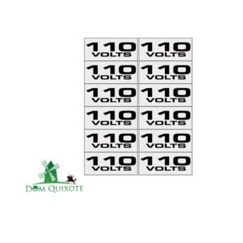 Comprar o produto de Placa 110V - 1,5 X 3,6 c/ 12 uni em Diversos pela empresa Dom Quixote Equipamentos de Proteção Individual em Jundiaí, SP por Solutudo
