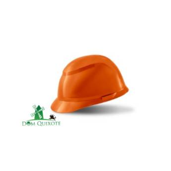 Comprar o produto de Capacete classe B Laranja - completo em Capacetes pela empresa Dom Quixote Equipamentos de Proteção Individual em Jundiaí, SP por Solutudo