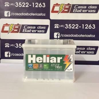 Comprar o produto de Bateria Heliar HF65HD em Baterias em Foz do Iguaçu, PR por Solutudo