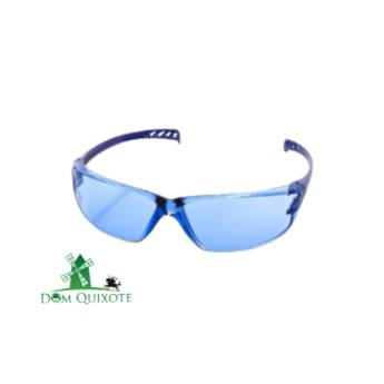 Comprar o produto de Óculos Vision 500 Azul Antiembaçante em Proteção visual pela empresa Dom Quixote Equipamentos de Proteção Individual em Jundiaí, SP por Solutudo