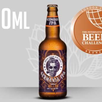 Comprar o produto de Cerveja Germânia IPA em Cervejas em Atibaia, SP por Solutudo