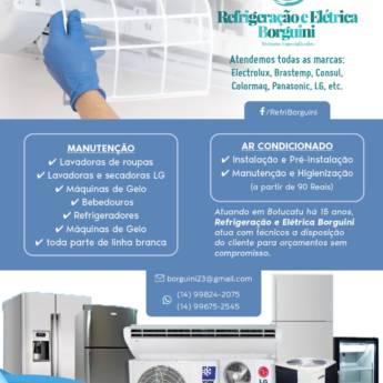 Comprar produto Manutenções  em Refrigeração - Assistência Técnica pela empresa Refrigeração e Elétrica Borguini em Botucatu, SP