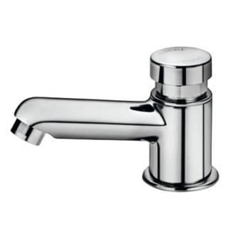Comprar o produto de Torneira para banheiro Pressmatic Compact Docol em Materiais Hidráulicos em Foz do Iguaçu, PR por Solutudo