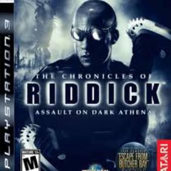 Comprar o produto de the chronicles of riddick assault on dark athena - PS3 (usado) em Jogos Usados em Tietê, SP por Solutudo