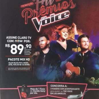 Comprar o produto de Promoção Hit de Prêmios The Voice em Outros em Tietê, SP por Solutudo