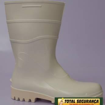 Comprar o produto de Bota borracha Branca  em Calçado de Segurança em Mineiros, GO por Solutudo