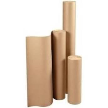 Comprar o produto de Bobina de Papel kraft 1,20m kg (vendida por kilo, peso pode variar) em A Classificar pela empresa TRESKOS em Botucatu, SP por Solutudo