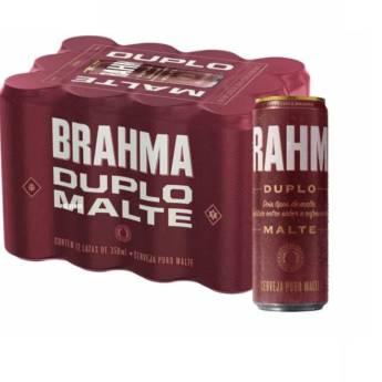 Comprar o produto de Caixa de Cerveja Brahma Duplo Malte em Cervejas em Foz do Iguaçu, PR por Solutudo