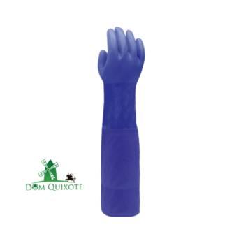 Comprar o produto de Luva longa de PVC - 66 cm  em Luvas pela empresa Dom Quixote Equipamentos de Proteção Individual em Jundiaí, SP por Solutudo