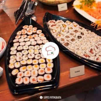 Comprar o produto de Cardápio Japonês  em Gastronomia pela empresa Fazan Buffet em Americana, SP por Solutudo