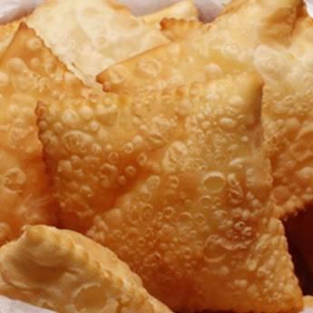 Comprar o produto de Cento Mini Pastel em Salgados Fritos em Foz do Iguaçu, PR por Solutudo
