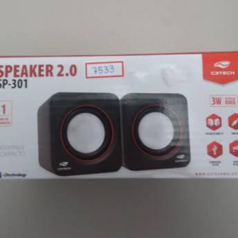 Comprar produto RC 7533 Caixa de som C3TECH SP-301 P2 em Caixas de Som e Subwoofer pela empresa RC Consult em Atibaia, SP