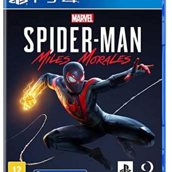 Comprar o produto de SpiDer-Man Miles Morales - PS4 em Jogos Novos pela empresa IT Computadores, Games Celulares em Tietê, SP por Solutudo