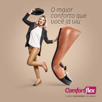 Comprar o produto de Calçados Comfortflex  em Calçados pela empresa Lojas Conceito Confecções e Calçados - Vestindo e Calçando Toda a Família em Atibaia, SP por Solutudo